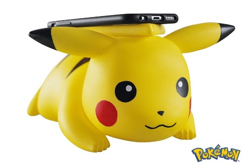 Go ahead and charge your iPhone X on a wireless Pikachu charger