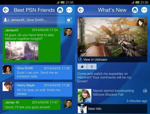Official PlayStation app now available on Android and iOS devices ahead of PS4 launch