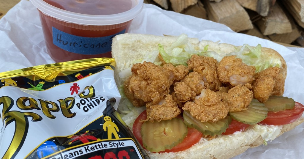 Check out the Menu for Lagniappe Po'Boys, Open Today in East Nashville