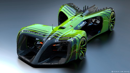 The self-driving race cars of Roborace will have a brain from Nvidia