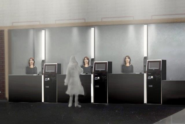 A high-tech hotel opening in Japan will be staffed by multilingual robots