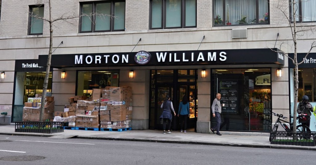NYC Grocery Stores in Wealthier Neighborhoods Struggle as Locals Escape the City