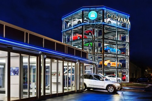 A five-story vending machine for cars just opened in Nashville