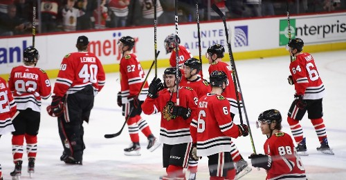 Blackhawks thankful for home-heavy March schedule after nomadic February