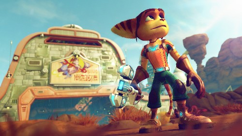 The gorgeous new Ratchet & Clank reboot will make you want to see the movie