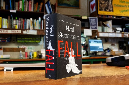 Neal Stephenson's Fall is Paradise Lost with brain uploading and weaponized fake news