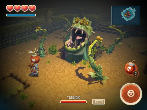 'Oceanhorn' is a 'Zelda' game for your iPad, but not a very good one