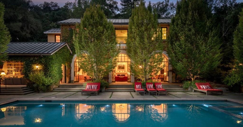 Italian-style villa in California wine country asks $18M