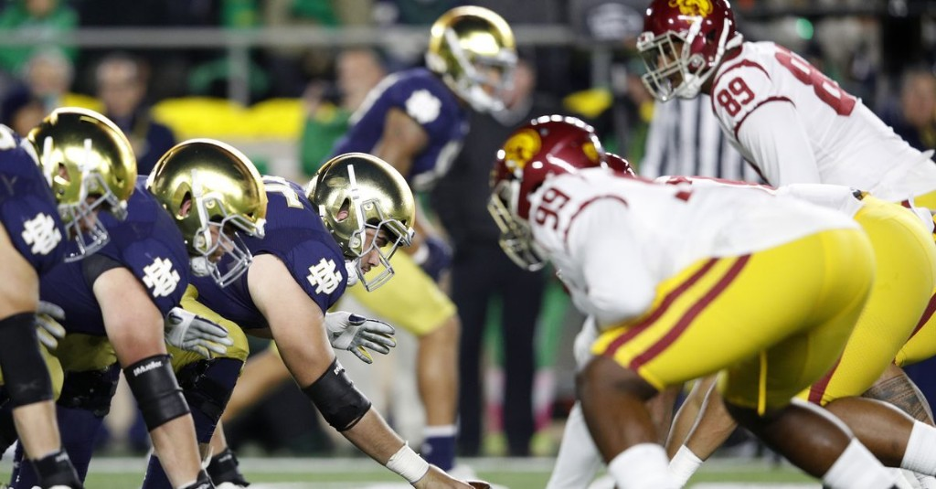 How Should Notre Dame Football schedule its rivals?