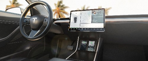Nomad's new wireless charger is cleverly designed to upgrade a Tesla Model 3