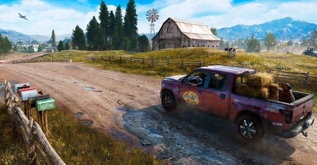 Hike across Far Cry 5's map in 54 minutes
