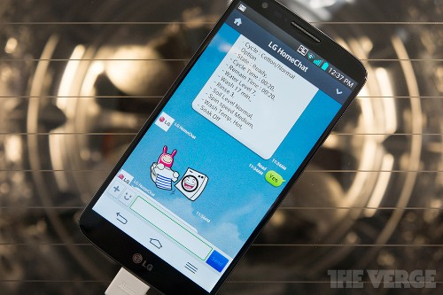 Texting with a washing machine: hands-on with LG's HomeChat