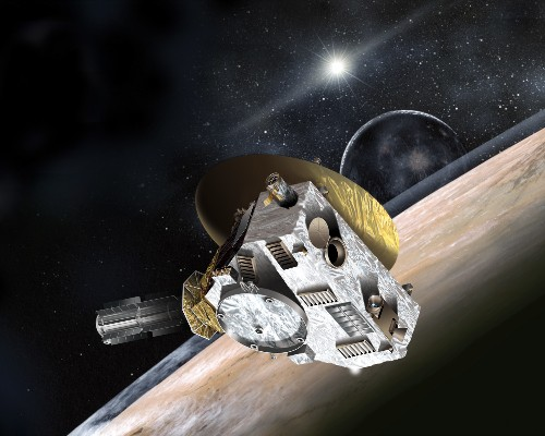 The CPU from the original PlayStation is guiding a probe to Pluto