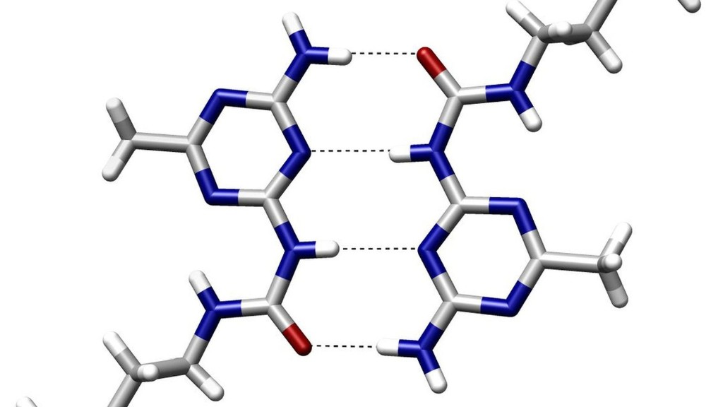 See the very first images of a hydrogen bond