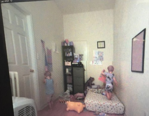 My baby monitor just produced a paranormal horror movie