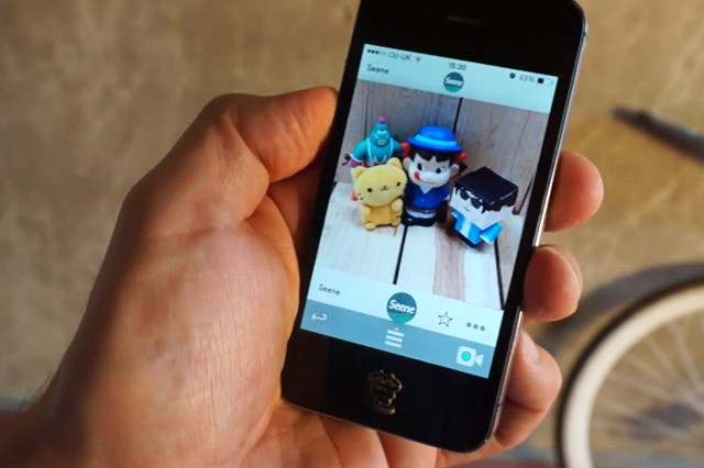 Seene lets you capture 3D objects using an iPhone