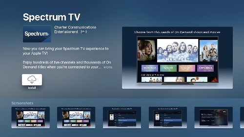 Spectrum has a streaming service that's basically its cable package for $15 a month