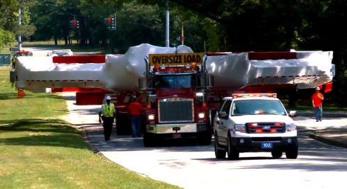 How a 17-ton electromagnet was transported from Long Island to Chicago