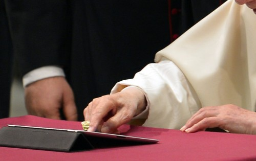 Follow the Pope on Twitter and spend less time in purgatory, says Vatican
