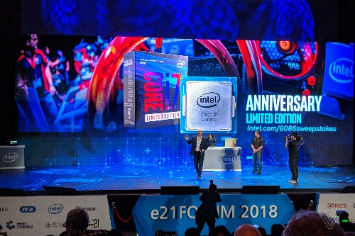 Intel announces limited edition 5GHz Core i7-8086K anniversary CPU