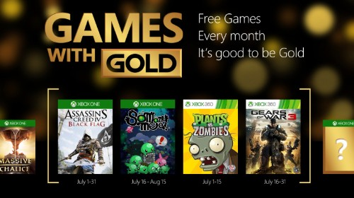 Games with Gold expands to two Xbox One games, starting in July with Assassin's Creed 4: Black Flag