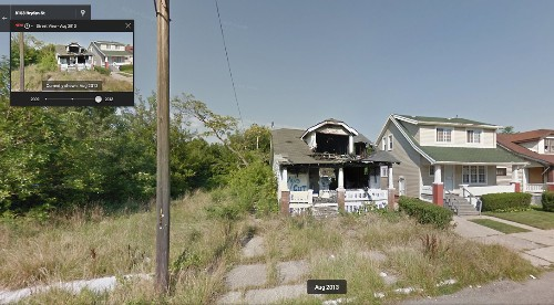 Street View imagery catalogs Detroit's decay