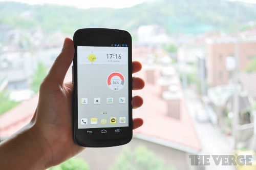 KakaoHome is a Facebook Home alternative for Korea's biggest messaging platform