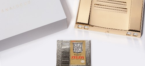This 24-karat gold NES is the luxury video game system of your dreams