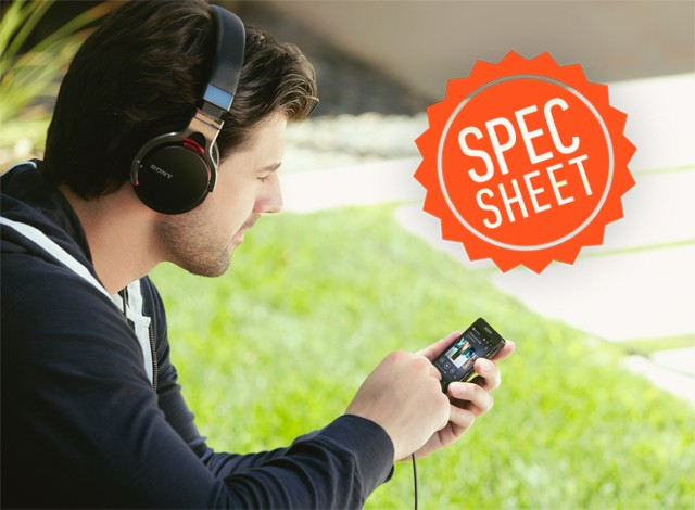 Spec Sheet: Sony's new Walkman players challenge the iPod with high-quality audio