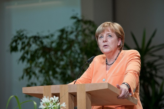 Angela Merkel argues against net neutrality, calls for special access fast lane