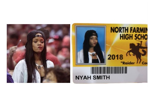 You'll never have an ID photo cooler than these high schoolers