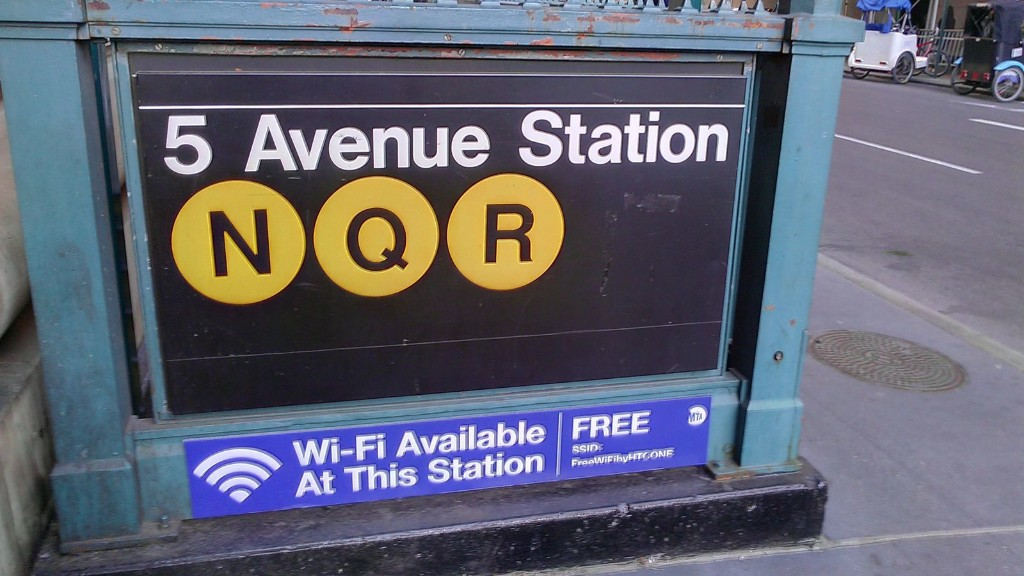 NYC's underground subway stations on track to have free Wi-Fi by year's end