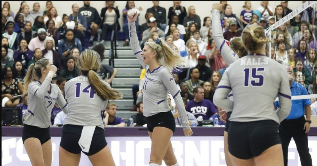 Junior Katie Clark named to the Preseason All-Big 12 Volleyball team