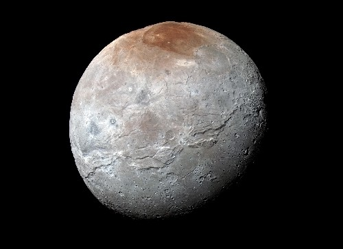 NASA shows off a stunning new color photo of Pluto's moon, Charon
