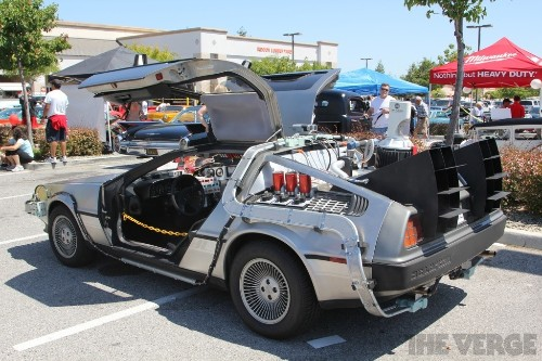 Of course Lyft is offering DeLorean rides on Back to the Future Day