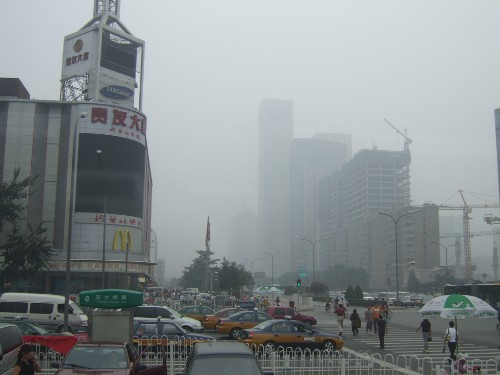 China's smog problem is reportedly impairing the country's surveillance networks