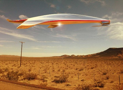 Ferrari's design chief imagines the weird, beautiful spaceship of the future