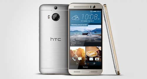 HTC unveils a China-only One M9+ with fingerprint sensor and larger screen