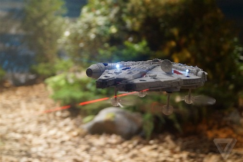 These amazing Star Wars drones let you battle with the Millennium Falcon