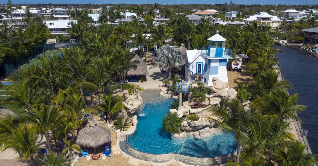 For $7.9M, pretty much your own private waterpark in Key Largo