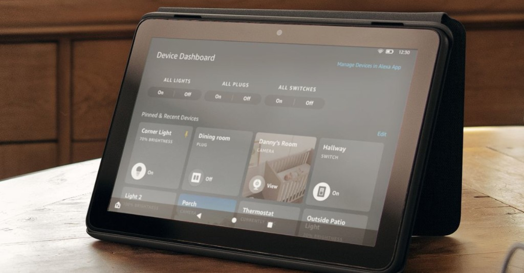Amazon's Fire tablets are getting new smart home controls