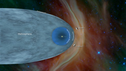 Voyager 2 becomes second human-made object to cross into interstellar space