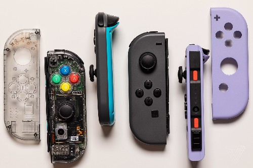 How to customize the look of your Nintendo Switch Joy-Con controllers