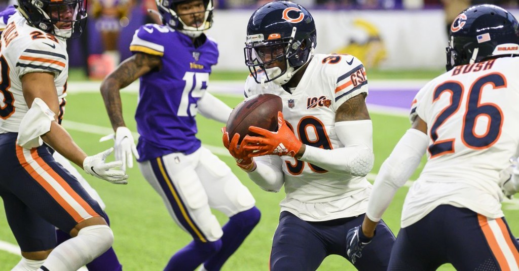Bears look to take Eddie Jackson's game to another level in 2020