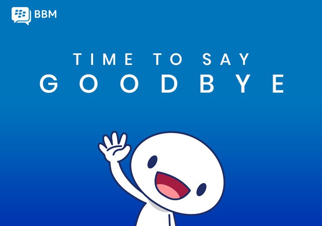 BlackBerry Messenger (yes, that BBM) is shutting down on May 31st