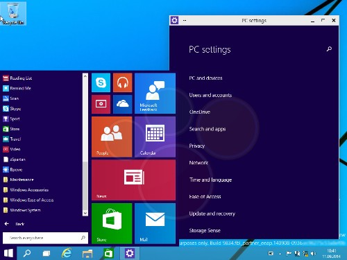 Leaked Windows 9 screenshots reveal the future of the desktop