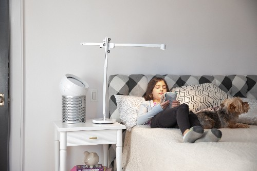 Dyson's new ambient lamp promises to last up to 60 years and has a USB-C port built in