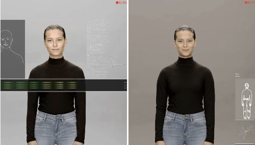 Samsung's 'artificial human' project definitely looks like a digital avatar