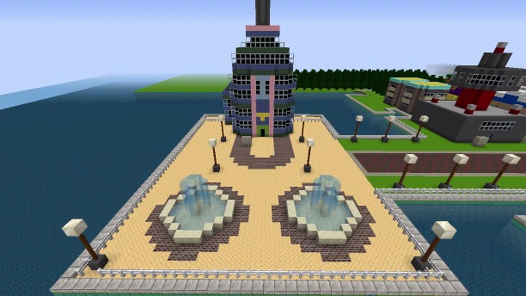 Pokémon HeartGold's Johto region recreated in Minecraft