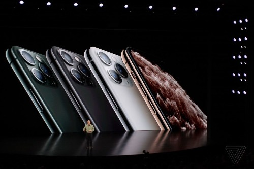 iPhone 11 Pro announced with a triple-camera system